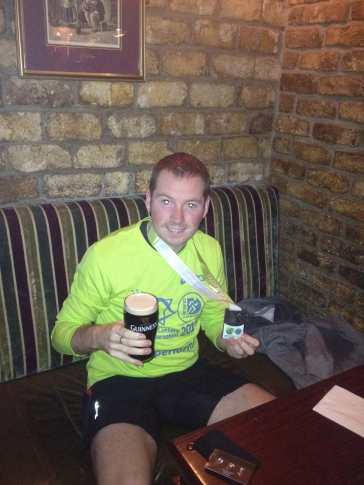 Alcohol after the Dublin Marathon